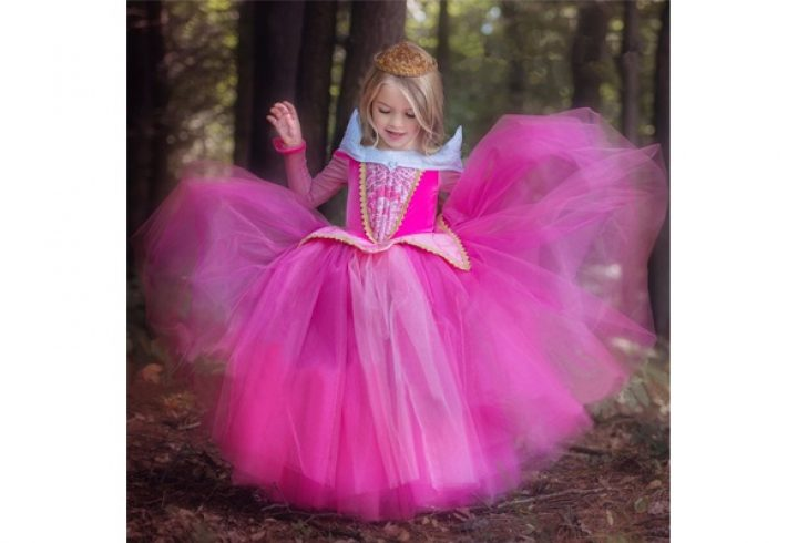 Fairy Princess Sleeping Beauty Aurora Ball Gown For Girls Halloween Cosplay Costume. GET UP TO 50% OFF – USE OUR PROMO CODE – HDMKWKK