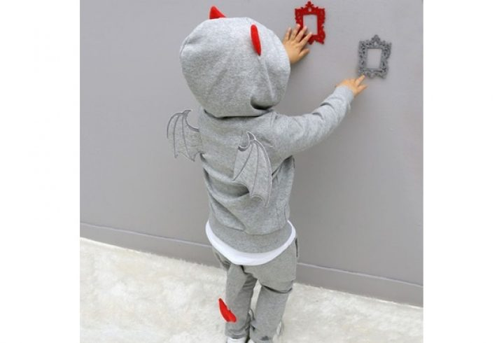 Casual sport suit children sets Cartoon devil clothing sets Halloween Hoodies. GET UP TO 50% OFF – USE OUR PROMO CODE – HDMKWKK